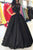 Sparkly Ball Gown Floor Length Black Sleeveless Long Tulle Prom Dresses OHC184 | Cathyprom