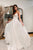 A-Line Spaghetti Straps Floor-Length Chiffon Beach Wedding Dress OHD059 | Cathyprom