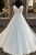 Beautiful A Line Spaghetti Straps Sleeveless Wedding Dresses with Appliques OHD098 | Cathyprom