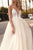 A-line Spaghetti Straps Floor Length Sleeveless Backless Romantic Tulle Bridal Gown Wedding Dresses OHD157 | Cathyprom