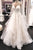 Gorgeous A Line Spaghetti Straps White Wedding Dresses with Appliques OHD097 | Cathyprom