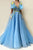 Beautiful Prom Dresses A Line Floor-length Sleeveless Pockets Embroidery Long Chic Tulle Prom Dress  OHC242 | Cathyprom