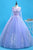 Unique Customize Long Lavender Tulle A Line Halter Formal Dress Prom Dress P2