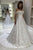 Gorgeous A Line Off the Shoulder White Sleeveless Satin Wedding Dresses with Appliques OHD104 | Cathyprom