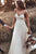 Simple A Line Spaghetti Strap Sweep Train Sleeveless Backless Tulle Long Bridal Gown Wedding Dress OHD154 | Cathyprom