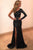 Sparkle Sheath Sweep Train One Shoulder Long Sleeve Side Split Sequins Long Prom Dress OHC203 | Cathyprom