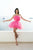 Cute A Line Strapless Sleeveless Short Tulle Homecoming Party Dresses with Ruched Bowknot OHM093 | Cathyprom