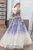 A Line Strapless Floor Length Appliques Long Tulle Prom Dress OHC546