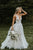 Marvelous V-neck A-line Wedding Dresses Appliques Tulle Bridal Gowns Beach Wedding Dresses OHD203