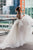 Princess A-Line Scoop Long Sleeve Backless Tulle Wedding Dress with Beading OHD096 | Cathyprom
