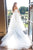 Off-the-Shoulder Lace Appliques Modest Tulle Princess Wedding Dress OHD207