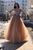 A Line Sweetheart Floor Length Tulle Beaded Long Prom/Evening Dress OHC177 | Cathyprom
