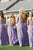A-Line Sweetheart Backless Lavender Chiffon Bridesmaid Dress with Ruched OHS014 | Cathyprom