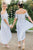 A-Line Off-the-Shoulder Pleated Chiffon Bridesmaid Dress with Lace OHS050 | Cathyprom