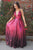 A-Line Spaghetti Straps Floor-Length Sleeveless Fuchsia Sequined Prom Dress OHC437 | Cathyprom