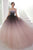 Unique Ball Gown Off-the-shoulder Sweep Train Sleeveless Ombre Long Tulle Prom Dress Evening Dresses OHC113 | Cathyprom