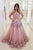 Beautiful Pink Tulle Embroidery Lace Applique Long Pageant Prom Dress Evening Dress OHC426 | Cathyprom