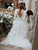 Ball Gown Simple Wedding Dress Sexy Open Back Long Sleeve Modest Wedding Dress Bridal Gown CA050|CathyProm