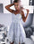 Exquisite Lace Light Blue Homecoming Dress Spaghetti Straps Short Prom Party Dress CA2103|CathyProm
