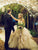 Ball Gown Spaghetti Straps V-neck Tulle Wedding Dress Sexy Backless Simple Wedding Gown CP026|CathyProm