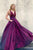 Charming V Neck Satin A-line Backless Long Prom Dresses Evening Dresses OHC500 | Cathyprom