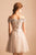 A Line Off-the-shoulder Cap Sleeves Tulle Homecoming Dress Short Prom Dress Party Dress OHM120 | Cathyprom