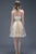Cute Sweetheart Above Knee Sleeveless Appliques Beading Short Tulle Homecoming Party Dress OHM102 | Cathyprom