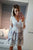 Long Sleeve Homecoming Dresses V-neck A-line Lace Short Prom Dress Party Dress OHM145