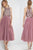 Sparkly Two Piece Scoop Tea Length Sleeveless Rhinestone Short Tulle Prom Dress Party Dress OHC226 | Cathyprom