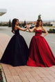 Chic Ball Gown Sweetheart Floor Length Sleeveless Long Satin Prom Dress/Evening Dress  OHC133 | Cathyprom