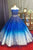 Beautiful Ball Gown Sweetheart Sweep Train Sleeveless Sequins Beading Long Tulle Prom Dress/Evening Dress OHC140 | Cathyprom