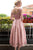 Homecoming Dress Lace-up Bowknot Tea-length Short Prom Dress Party Dress OHM147