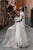 Sweetheart Modest Tulle A-Line Sweep Train Sleeveless Rustic Wedding Dress OHD211