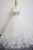 Unique White Tulle Long 3D Flower Wedding Dress Tulle Formal Prom Dresses OHC496 | Cathyprom