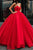 Unique Ball Gown Red Strapless Sweetheart Long Prom Dresses Quinceanera Dresses CP621