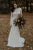 Long Sleeves Vintage Wedding Dress Backless Rustic Lace Wedding Dress OHD212