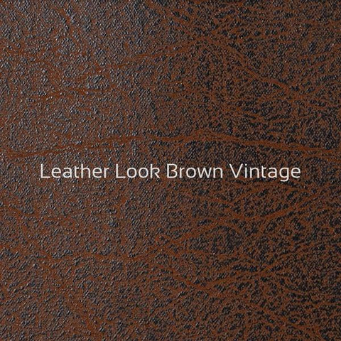Leather Look Brown -kangas, Innovation huonekalut