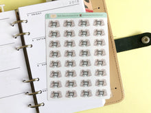 Load image into Gallery viewer, Mini Pay day Planner Stickers Hand Drawn piles of cash hand lettered labels