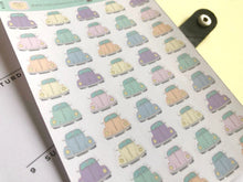 Load image into Gallery viewer, Vintage Car Hand Drawn Planner Stickers, Perfect for Erin Condren, Happy Planner, Kikki K, Plum Paper, Filofax, inkwell press