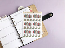 Load image into Gallery viewer, Reading and Books Life Planner sticker