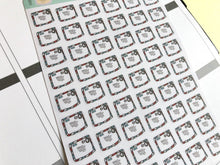 Load image into Gallery viewer, Mail Envelope Planner Sticker hand drawn     ,