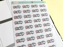 Load image into Gallery viewer, Mini Netflix Binge Hand Drawn Planner Stickers, perfect for Erin Condren, Filofax, Kikki K, Happy Planner, Inkwell Press
