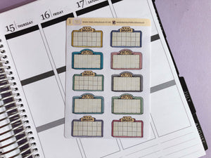 Movie Marquee, Cinema, Film, Movie night  Hand Drawn planner stickers, in light tones