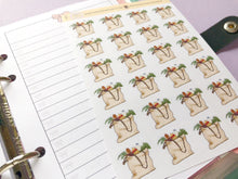 Load image into Gallery viewer, Grocery Shopping Bag large planner stickers, food shopping tote bag