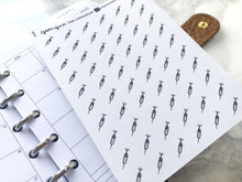 Load image into Gallery viewer, Nano injection syringe sticker perfect for journaling or planning
