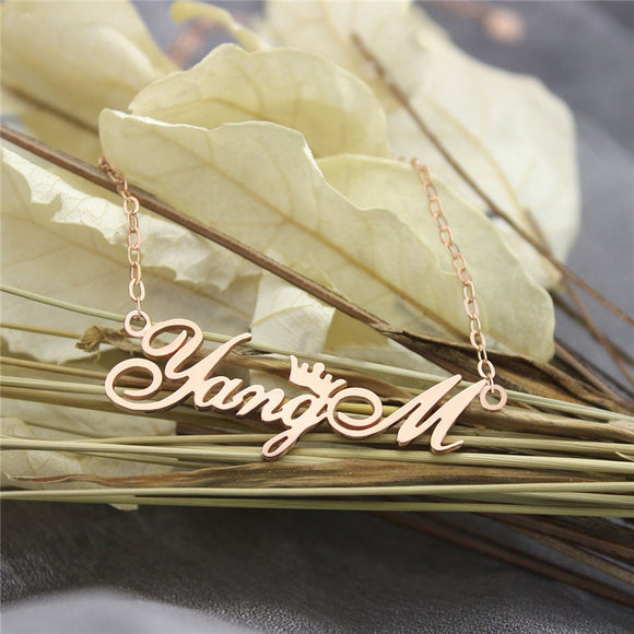 925 Silver Name Necklace