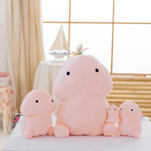 Funny Plush Penis Cushion