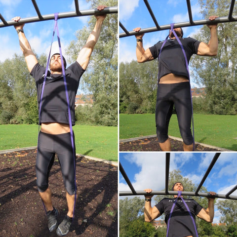 Featzone | Assisted pull-ups resistance band | back workout