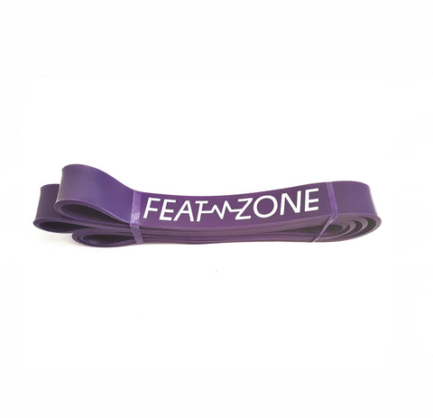 Resistance band - 110lbs - purple | Fitness workout| Featzonee | Featzone