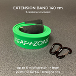 Extension band - green